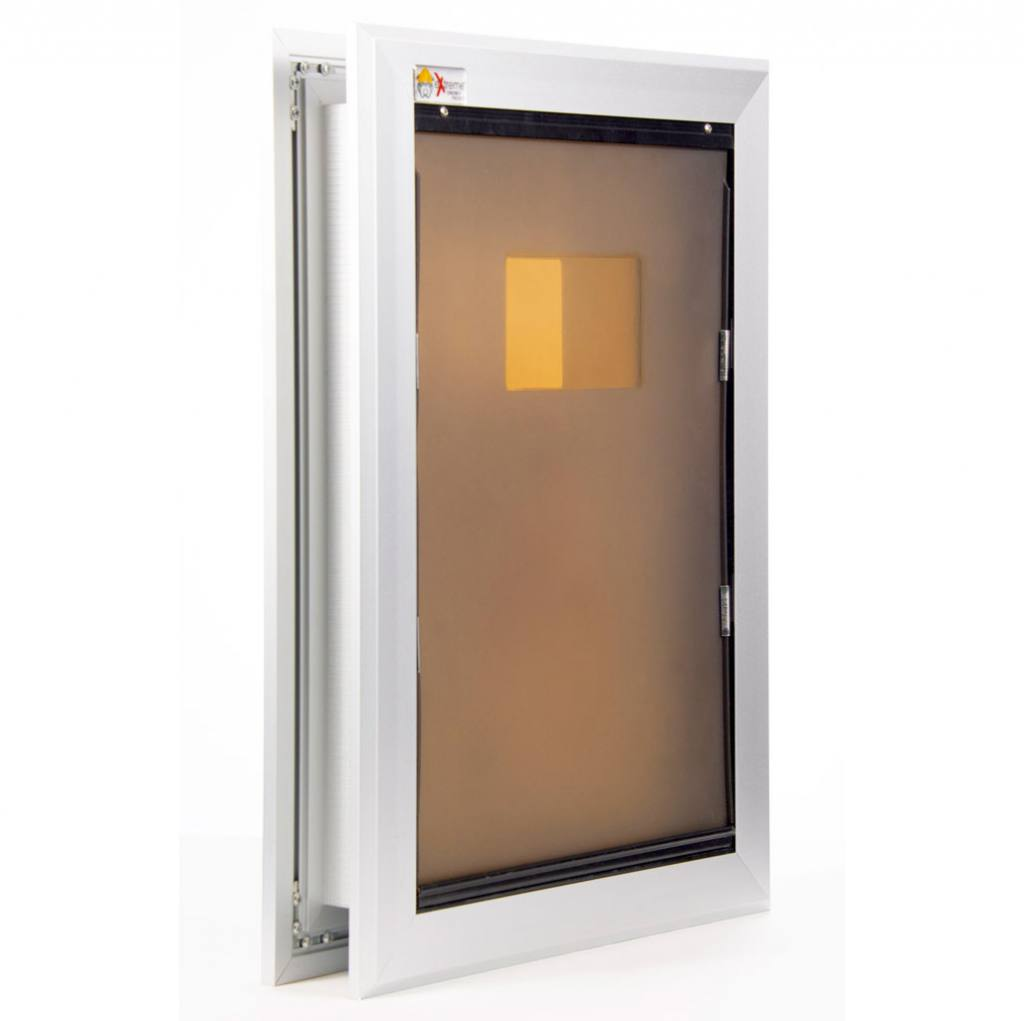 Extreme Single Flap Aluminum Dog Door Medium Extreme